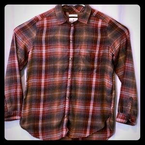 AE Ahh-mazingly Soft Flannel Button Front Shirt